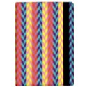 Colorful Chevron Retro Pattern iPad Air Flip View2