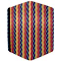 Colorful Chevron Retro Pattern iPad Air Flip View3