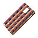 Colorful Chevron Retro Pattern Samsung Galaxy Note 4 Hardshell Case View4