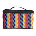 Colorful Chevron Retro Pattern Cosmetic Storage Case View1