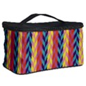 Colorful Chevron Retro Pattern Cosmetic Storage Case View2