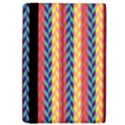 Colorful Chevron Retro Pattern iPad Air 2 Flip View4