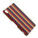Colorful Chevron Retro Pattern Sony Xperia Z3 View5
