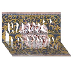 Panic! At The Disco Happy Birthday 3D Greeting Card (8x4)