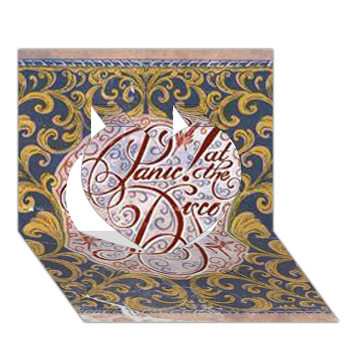 Panic! At The Disco Heart 3D Greeting Card (7x5)