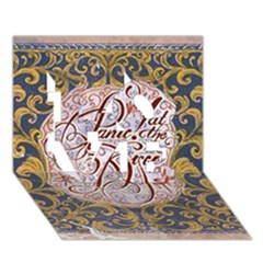 Panic! At The Disco LOVE 3D Greeting Card (7x5)