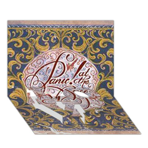 Panic! At The Disco LOVE Bottom 3D Greeting Card (7x5)