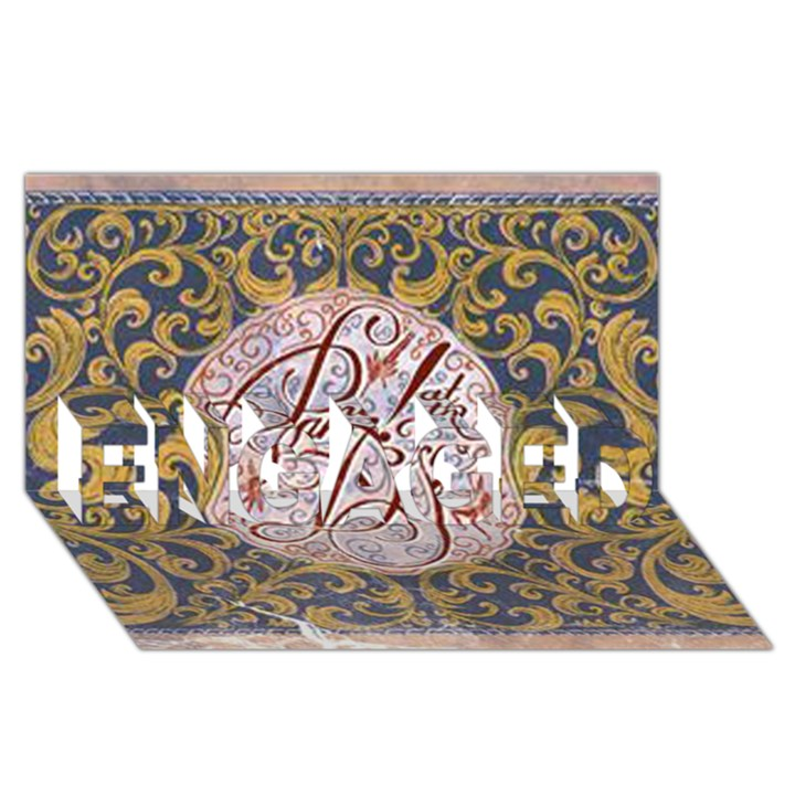 Panic! At The Disco ENGAGED 3D Greeting Card (8x4)