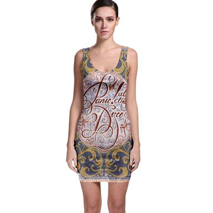 Panic! At The Disco Sleeveless Bodycon Dress