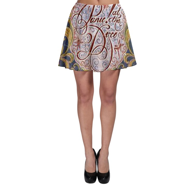 Panic! At The Disco Skater Skirt