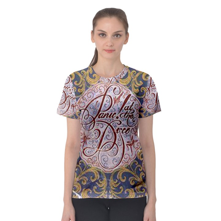 Panic! At The Disco Women s Sport Mesh Tee