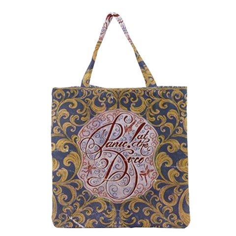 Panic! At The Disco Grocery Tote Bag