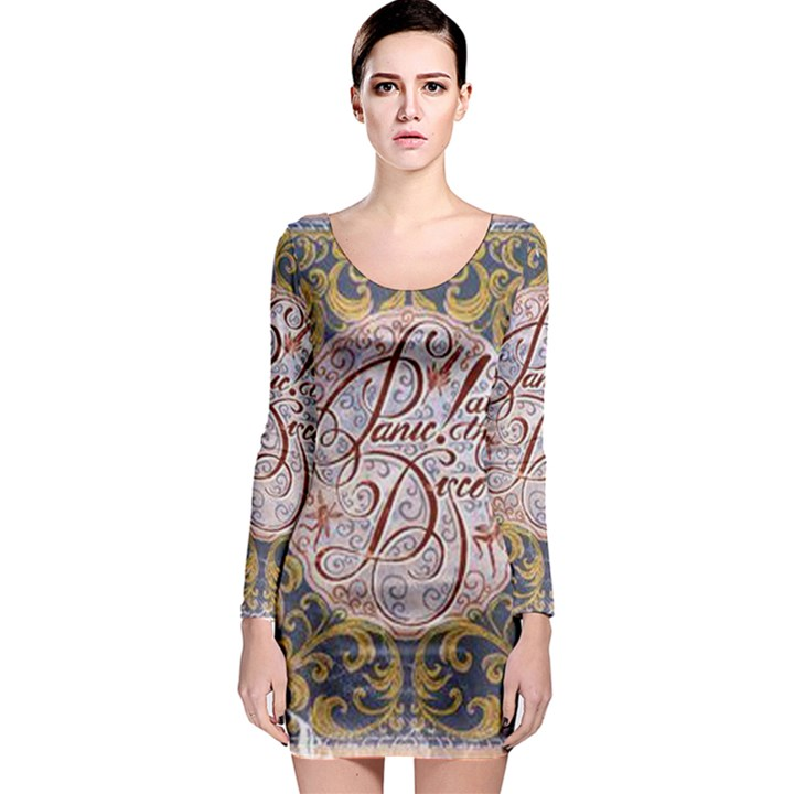 Panic! At The Disco Long Sleeve Bodycon Dress