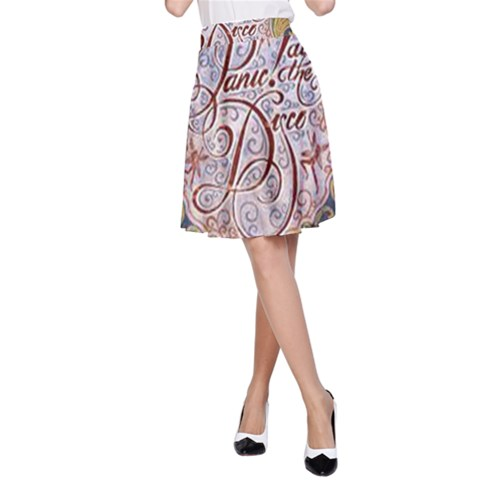 Panic! At The Disco A-Line Skirt