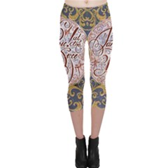 Panic! At The Disco Capri Leggings