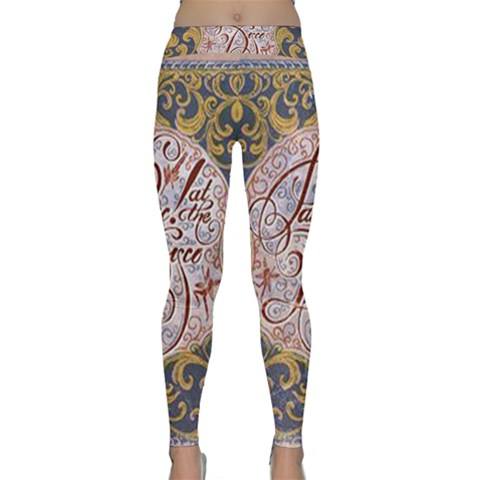 Panic! At The Disco Yoga Leggings