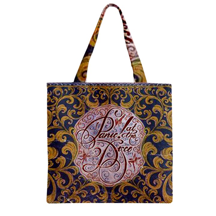 Panic! At The Disco Zipper Grocery Tote Bag