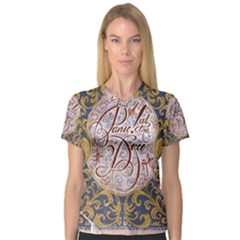 Panic! At The Disco Women s V-Neck Sport Mesh Tee