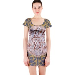Panic! At The Disco Short Sleeve Bodycon Dress