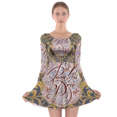Panic! At The Disco Long Sleeve Skater Dress