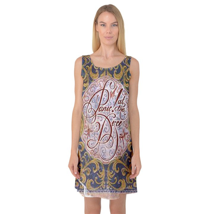 Panic! At The Disco Sleeveless Satin Nightdress