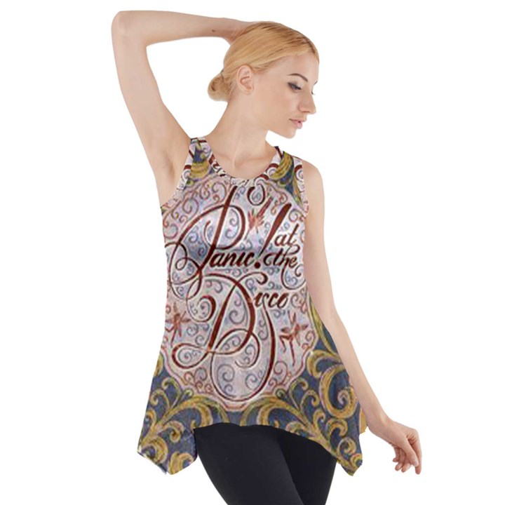 Panic! At The Disco Side Drop Tank Tunic