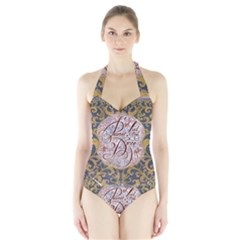 Panic! At The Disco Halter Swimsuit