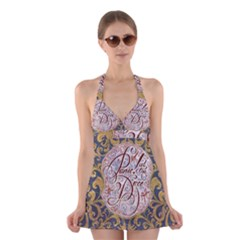Panic! At The Disco Halter Swimsuit Dress