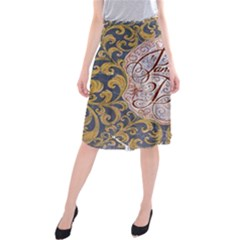 Panic! At The Disco Midi Beach Skirt