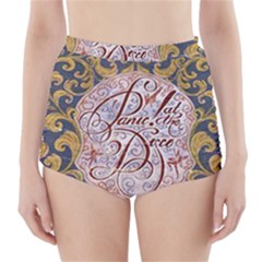 Panic! At The Disco High-Waisted Bikini Bottoms