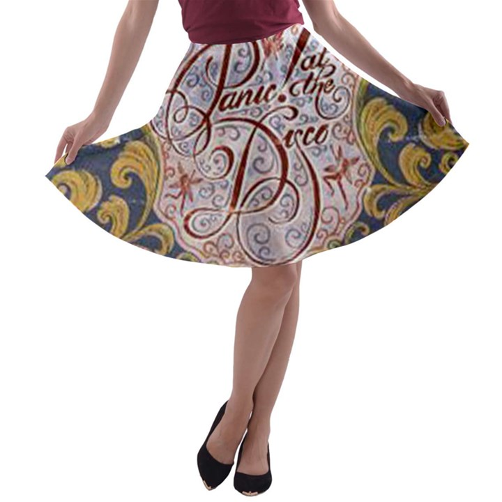 Panic! At The Disco A-line Skater Skirt