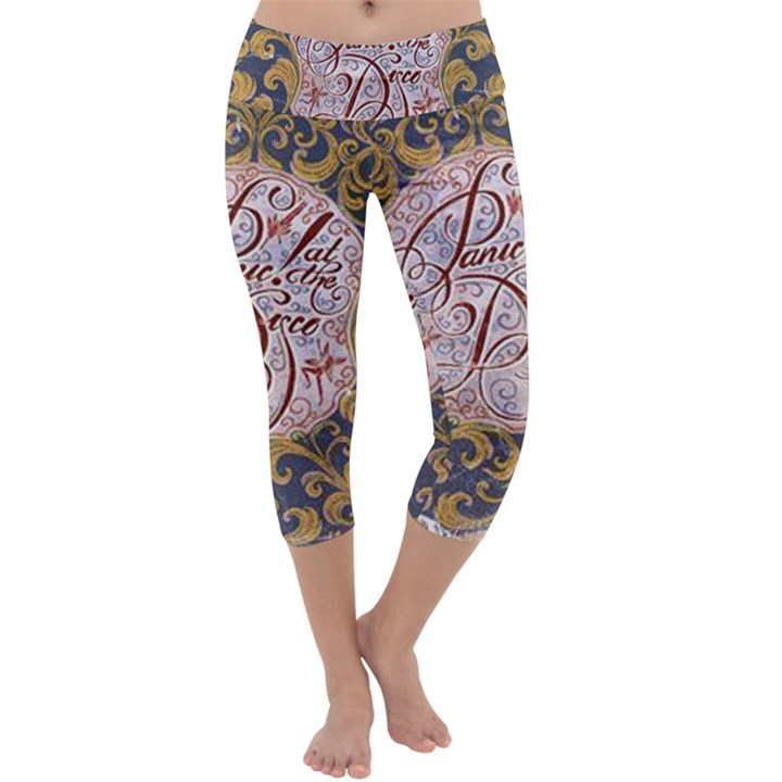 Panic! At The Disco Capri Yoga Leggings