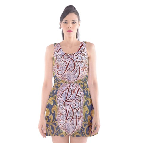 Panic! At The Disco Scoop Neck Skater Dress
