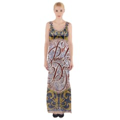 Panic! At The Disco Maxi Thigh Split Dress