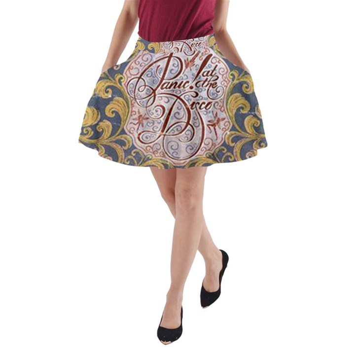 Panic! At The Disco A-Line Pocket Skirt