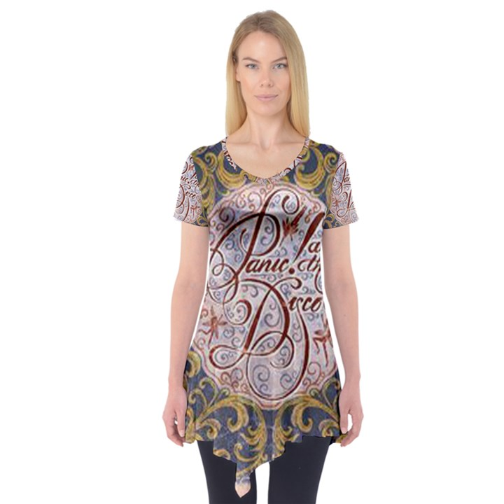 Panic! At The Disco Short Sleeve Tunic