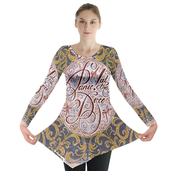 Panic! At The Disco Long Sleeve Tunic