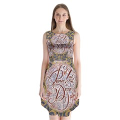 Panic! At The Disco Sleeveless Chiffon Dress