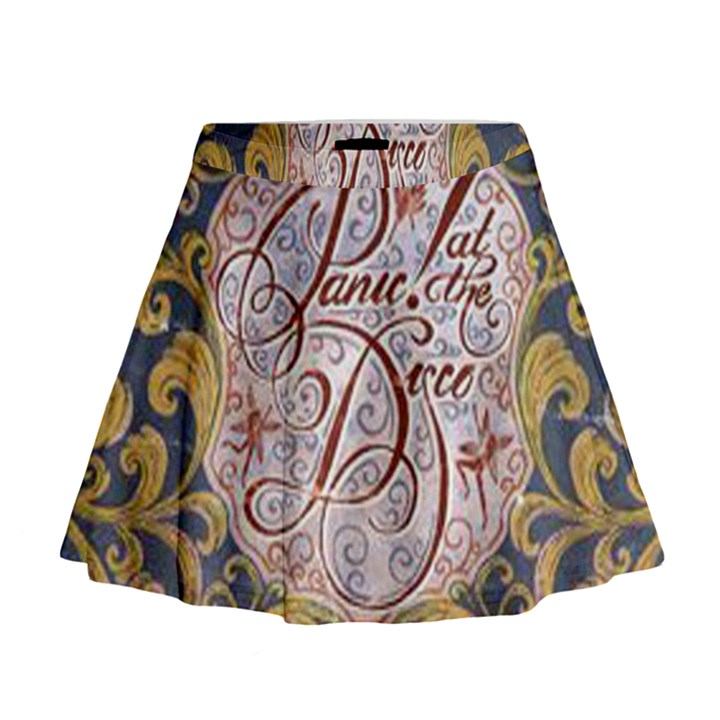 Panic! At The Disco Mini Flare Skirt