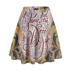 Panic! At The Disco High Waist Skirt