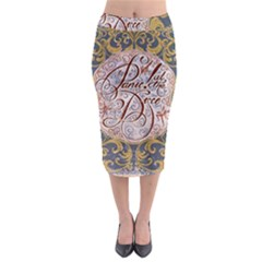 Panic! At The Disco Midi Pencil Skirt