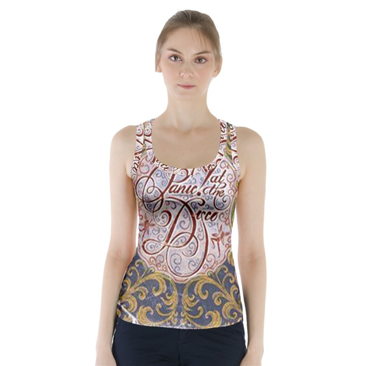 Panic! At The Disco Racer Back Sports Top