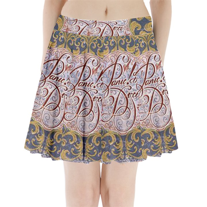 Panic! At The Disco Pleated Mini Skirt