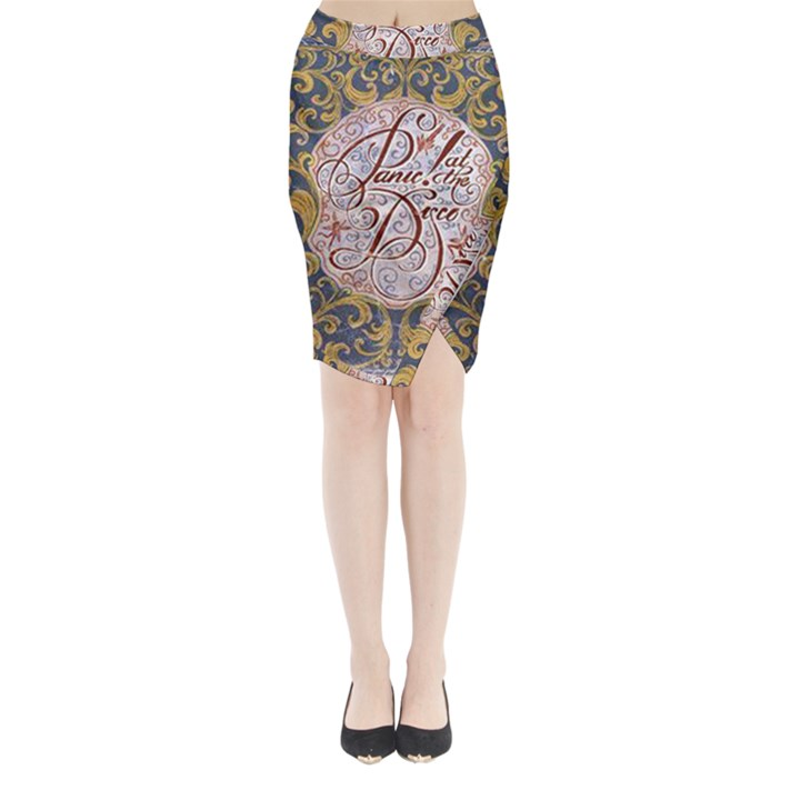 Panic! At The Disco Midi Wrap Pencil Skirt