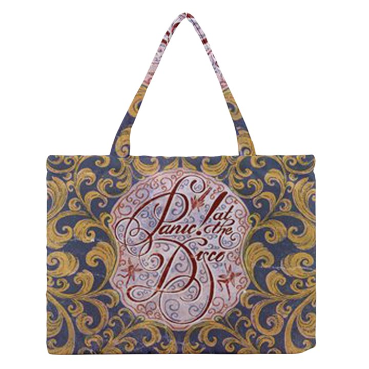 Panic! At The Disco Medium Zipper Tote Bag