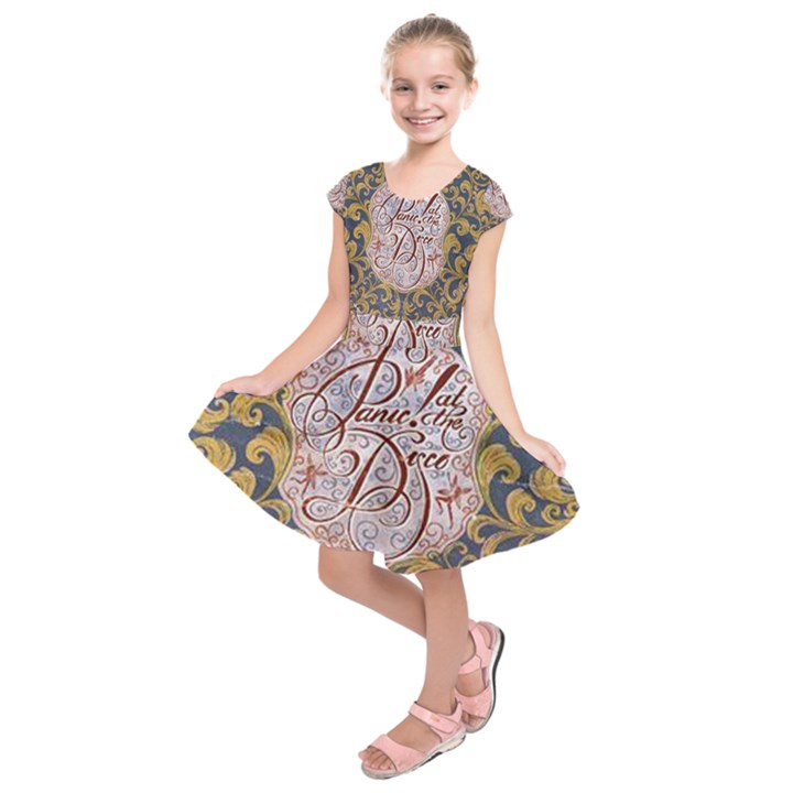 Panic! At The Disco Kids  Short Sleeve Dress