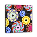 Colorful Retro Circular Pattern Mini Canvas 6  x 6  View1