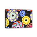 Colorful Retro Circular Pattern Mini Canvas 6  x 4  View1