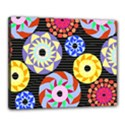 Colorful Retro Circular Pattern Canvas 20  x 16  View1