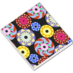 Colorful Retro Circular Pattern Small Memo Pads